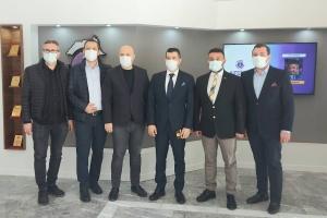 Türkiye İhracatçılar Meclisi (TİM) Sektörler Konseyi Üyesi ve Temmer Marble Yönetim Kurulu Başkanı Sn. Rüstem Çetinkaya, derneğimizi ziyaret etmiştir
