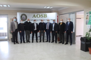 Sayın ,Afyonkarahisar Organize Sanayi Bölgesi'nin genişleme çalışmaları ile ilgili bilgilendirme toplantısına katıldı