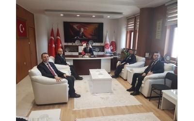 AFSİAD Cumhuriyet Başsavcısı Mustafa ÇELENK'i ziyaret etti.24 Ocak 2020