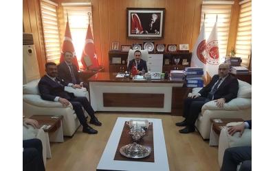 AFSİAD Adli Yargı Komisyon Başkanı ,ACM Başkanı Fatih Serdar KÖKEN'i ziyaret etti.
