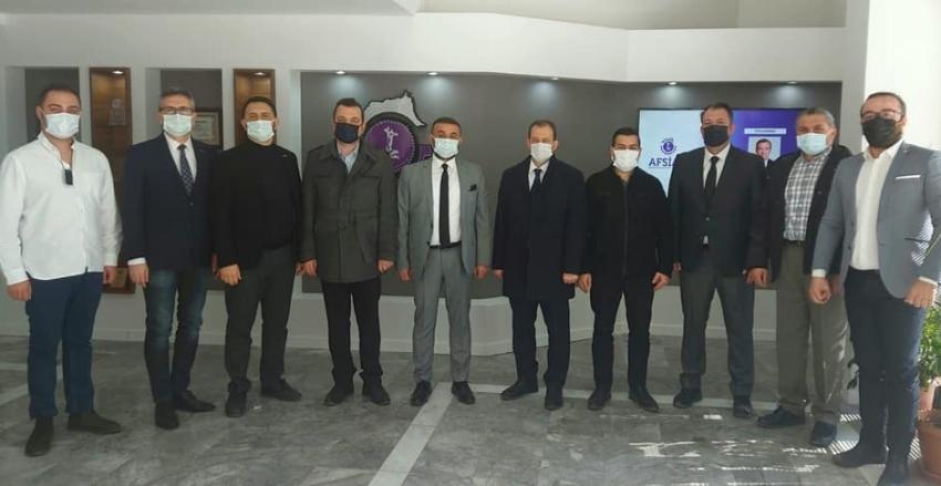 Deva Partisi İl Başkanı Kadir Daylık ve beraberindeki heyet ile derneğimizi ziyaret etmiştir.