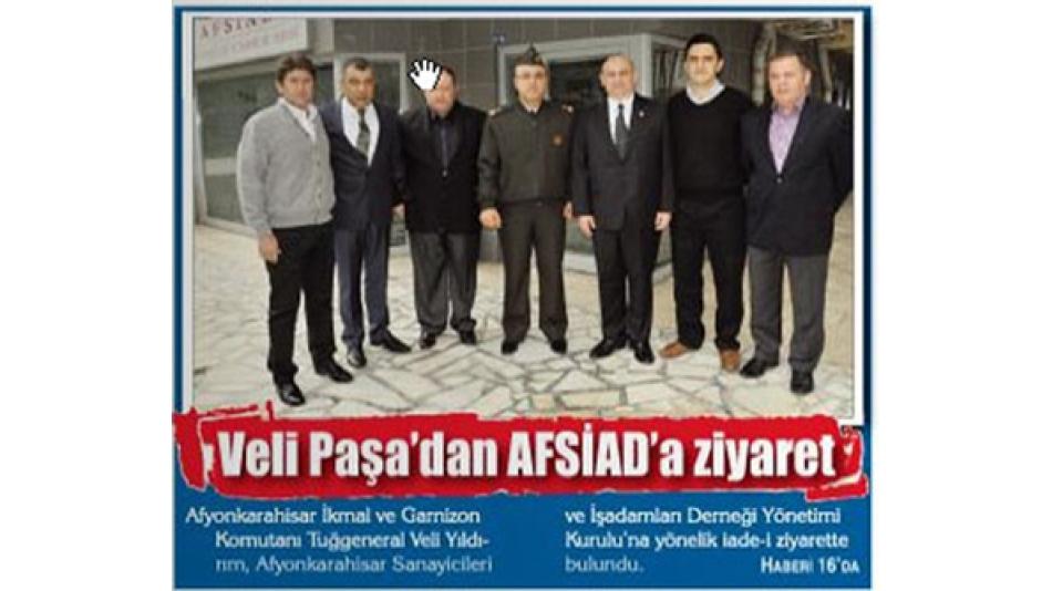 Veli Paşadan AFSİAD''a ziyaret - Gazete 3 14.10.2010