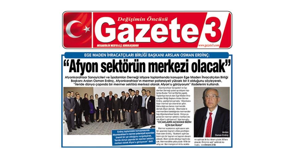 AFYON Sektörün Merkezi Olacak'