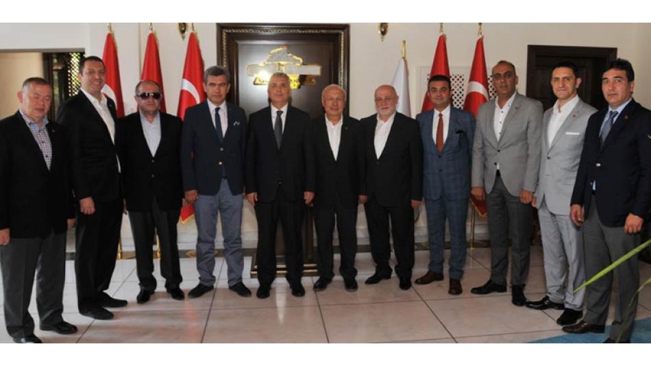 AFSİAD Yönetim Kurulu Vali Aziz YILDIRIM'a ziyarette bulundu.20.06.2016