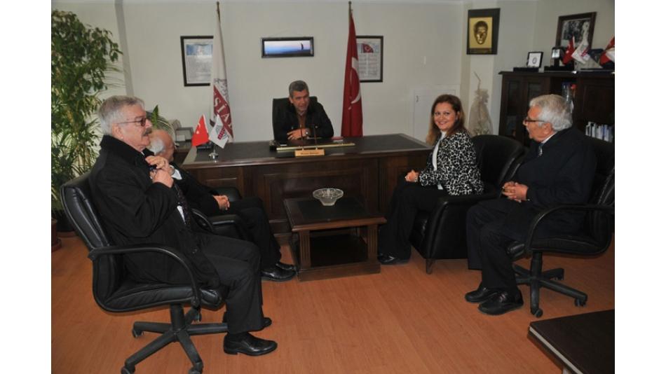 Afyonkarahisar Milletvekili Sayın Burcu KÖKSAL Derneğimizi ziyaret etti.2.3.2017