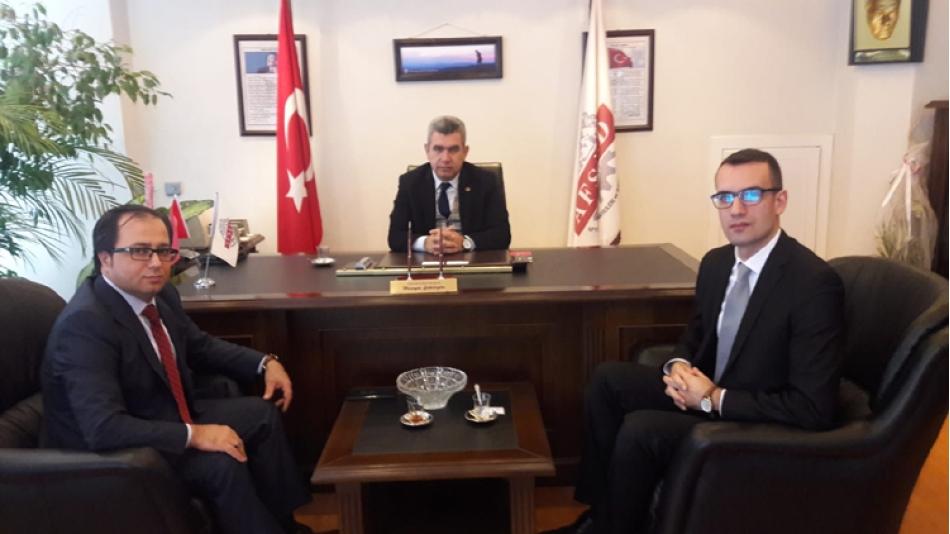 Ziraat Katılım Bankası Şube Yöneticisi Fatih SARICA AFSİAD'ı ziyaret etti.11 Aralık 2018