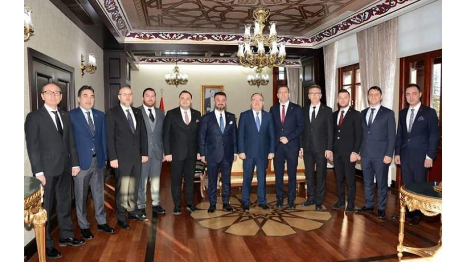 AFSİAD Afyonkarahisar Valisi Mustafa Tutulmaz ı ziyaret etti.